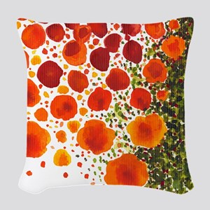 Paths of Color [R.O.G.] Woven Throw Pillow